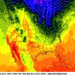 Pronóstico del Viento y la Temperatura en EEUU a Cuatro Días