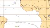 Predicción del tiempo en África a tres días