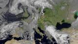 (últimas 00:00 h.) Composición del tiempo Del Satélite Europeo