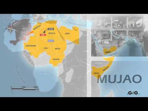 Radicalismo islámico en el centro y norte de África