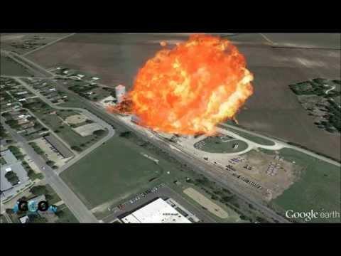 Explosión en planta de fertilizantes de Texas