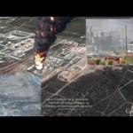 Explosión de gas en la refinería Pemex de Reynosa, Tamaulipas (México)