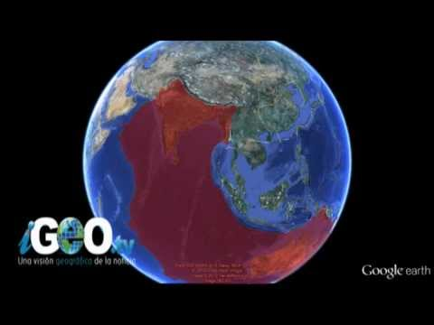 Origen de los terremotos de Sumatra