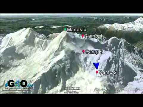 Avalancha mortal en Manaslu