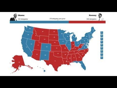 Resultado elecciones Estados Unidos 2012 – voto latino hispano