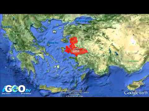 Barco patear se hunde en Turquía
