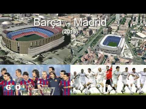 Clasico Madrid-Barsa en La Meca