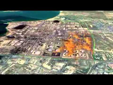 Explosión de una refineria en Venezuela