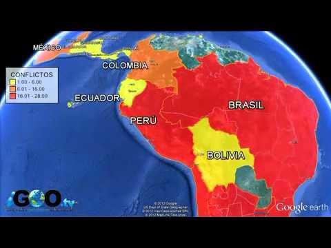 Conflictos Mineros en LatinoAmerica