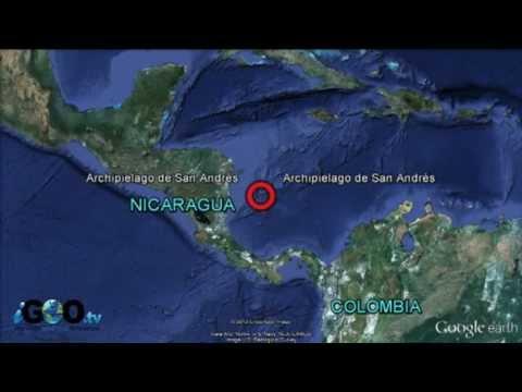 Colombia y Nicaragua se disputan el archipiélago  de San Andrés
