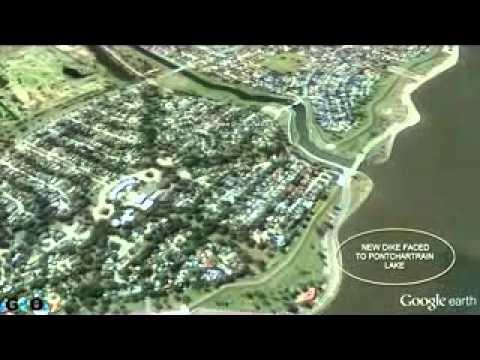 Nuevo dique de Nueva Orleans