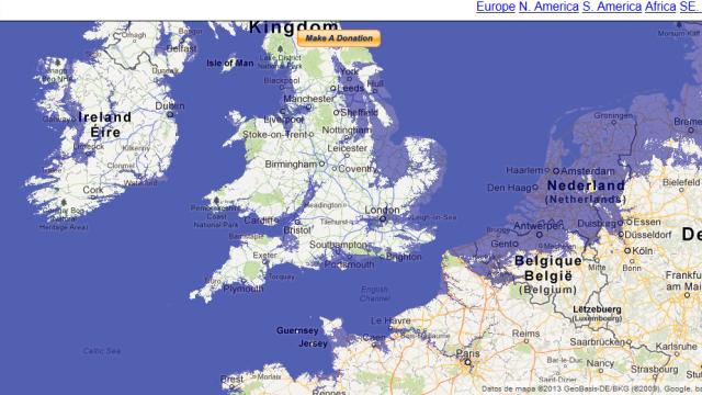 Zonas Con riesgo de Inundaciones por Subida del Nivel del Mar