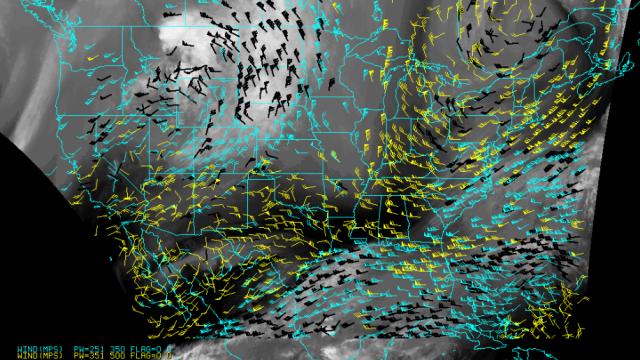 Análisis de los vientos en EE.UU. Actualizado
