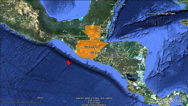 Terremoto en Guatemala de 7,5 de magnitud causa pánico en población.