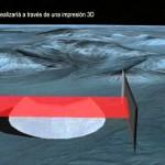 Base Lunar construida con mega-impresora 3D