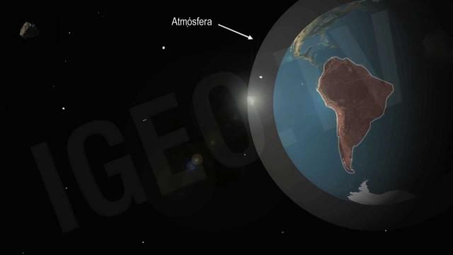 Impresionante lluvia de estrellas en Sudamérica