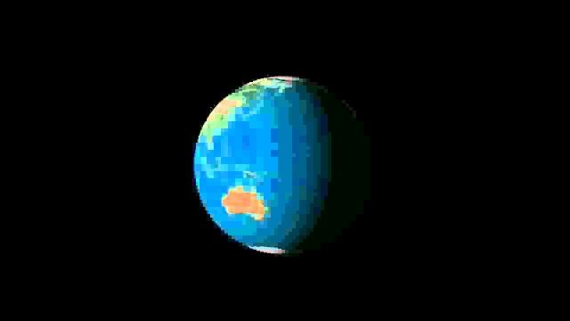 Tierra día y noche