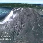 Volcanes activos en Japón