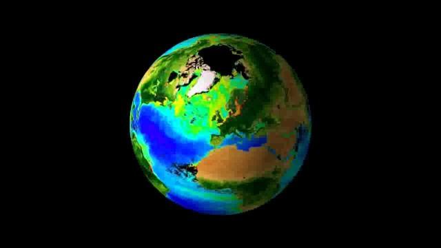 Biosfera globo terráqueo