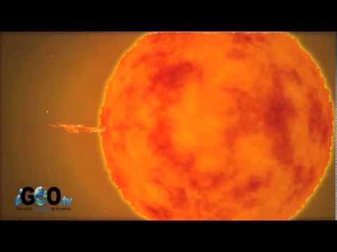 Una llamarada solar afecta a la atmósfera