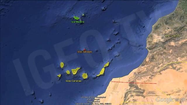 Conflicto territorial España y Portugal