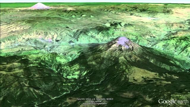 Erupción volcán Tungurahua 2013