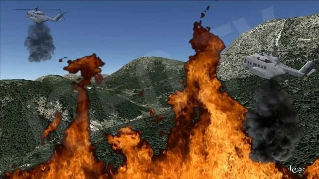Incendio en Mallorca. El peor incendio del verano 2013