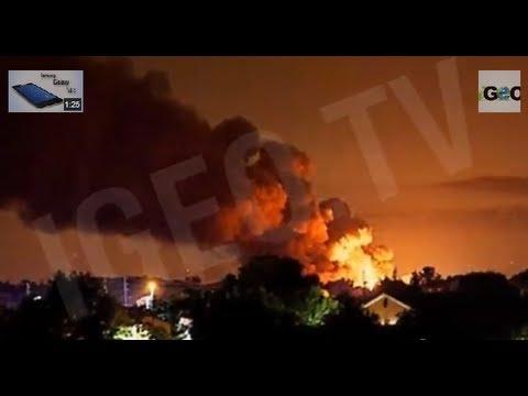 Explosiones en Planta de Gas Blue Rhino, Florida
