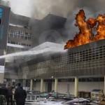 Incendio en el Aeropuerto de Nairobi