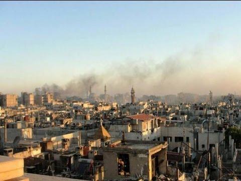 Guerra en Siria, Ataque con Armas Químicas