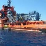 La extracción de petróleo de un buque petrolero hundido en la Guerra Civil de Castellón