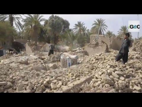 Terremoto en Pakistán, 327 Muertos