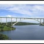 El 3er puente de arco de hormigón más largo del mundo está en España