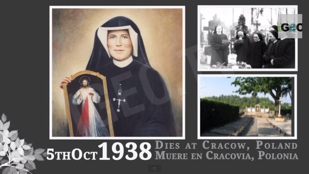 Divina Misericordia, vida de St. Faustina Kowalska