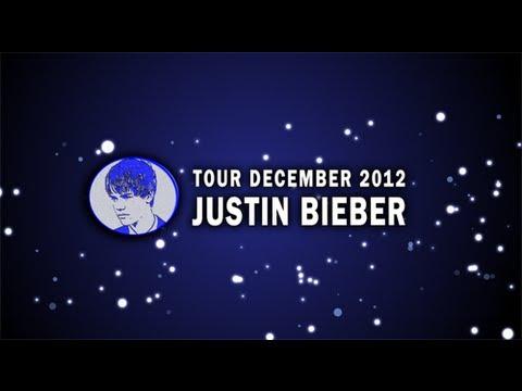 Gira Justin Bieber diciembre 2012