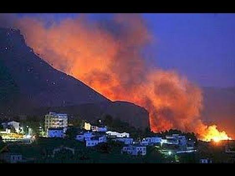 Incendio en Chulilla, Valencia