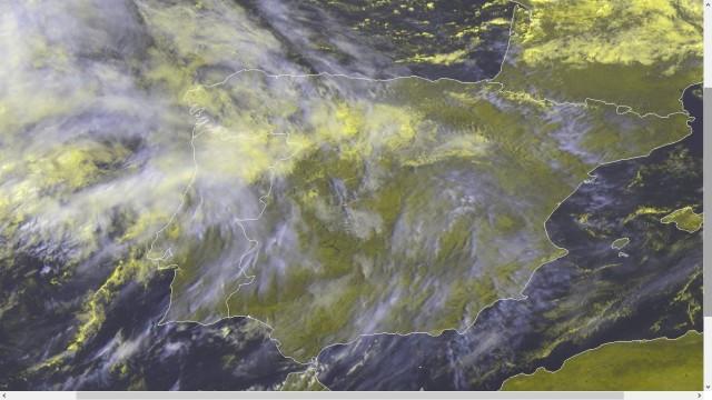 Animación por satélite de la eurozona
