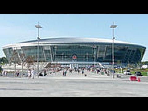 Estadios en Ucrania