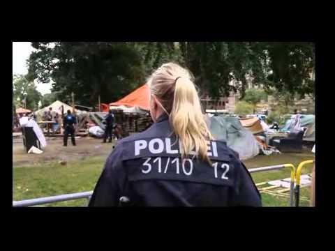 Desmantelamiento Occupy Frankfurt