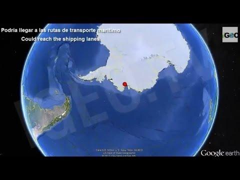 Iceberg Gigante a la Deriva: Peligro en Las Rutas Marítimas (19 nov 2013)