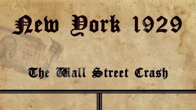 Crash del 29, la caida de Wall Street, Nueva York 1929