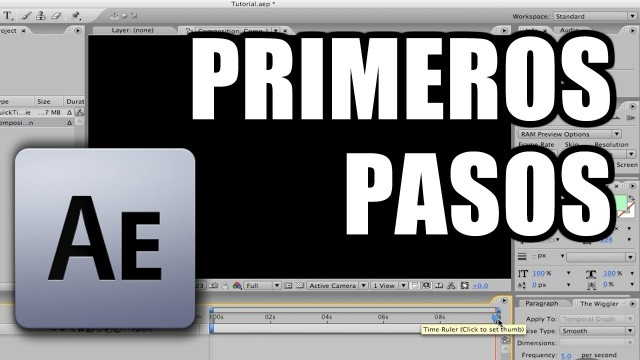 Tutorial After Effects: Introducción al programa