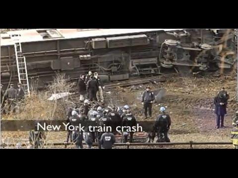 Accidente Tren Nueva York: 4 muertos y 63 heridos