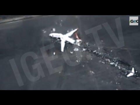 Avión Grande, Aeropuerto Pequeño: Accidentes Aéreos