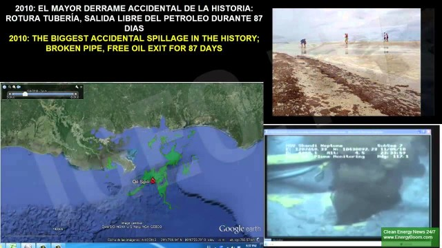 Mareas Negras: Vertidos de Petróleo Más Grandes de la Historia
