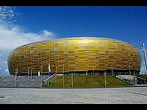 Estadios en Polonia