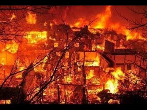 Incendio en Shangri-la ( Dukezong)
