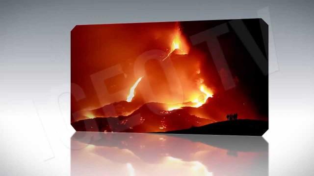 Alerta naranja por la erupción volcánica del Pacaya