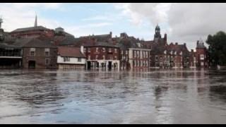 Inundaciones en Inglaterra, el Tamesis se desborda (Febrero 2014)