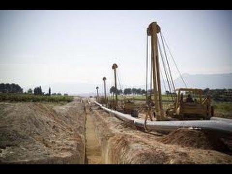 Ampliación gasoductos España